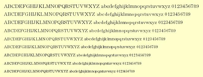 Essex Font PS Mac