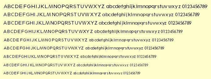 Sharpe Classified Font PS Mac